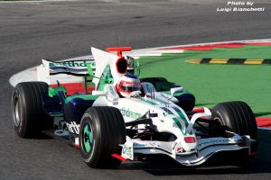 Test F. 1 2008 Barrichello by luis75