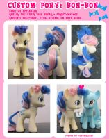 Custom Pony: Bon-Bon by autumnalone