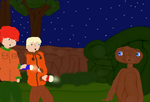 Kyle and Kenny meet ET by freacls