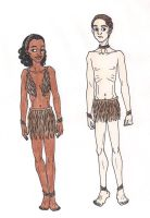 69th Hunger Games: District 9 Chariot Costumes by 13foxywolf666