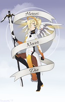 Mercy - Heroes Never Die! by ghostyjpg