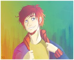 Mr Schmidt is certainly awesome by marvyanaka