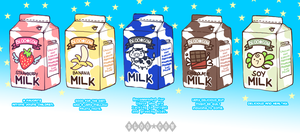 Bloo Cow: Milks by zombriefs
