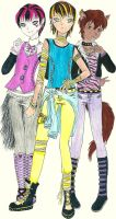 MonsterHigh cross-gender by klaudiajapan