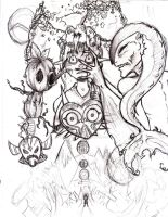 Majora's Mask Scrap by ALittleSeahorse