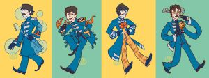 Fab Four by oxboxer