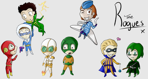 The Flash Rogues Gallery by SyrumNeko