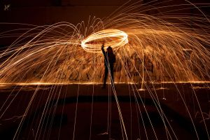 Light painting by Misspoint