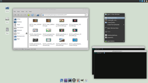 Wave for XFCE by p0ngbr