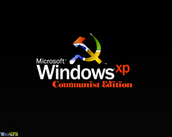 WindowsXP Communist Edition BG by MindWav3
