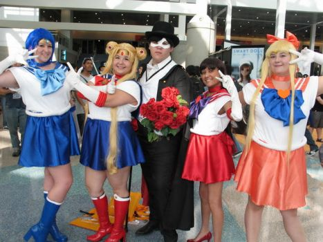 Sailor Scouts by CourtneyMonroe