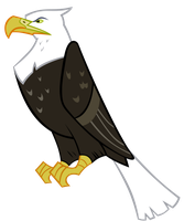 Eagle - Vector by GuruGrendo