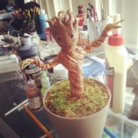 Dancing baby groot by pyropete03
