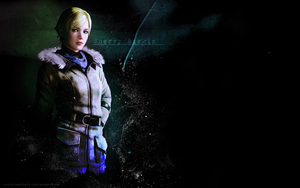 Sherry Birkin Wallpaper RE6 by Aletheiia90