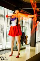 Flame Sniper - Sailor Mars Cosplay by WorstWaifu