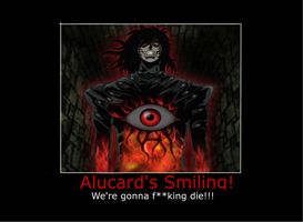 Alucard Motuvational Poster 3 by Bojaking