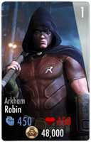 Robin Injustice Card by edrayed