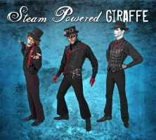 Steam Powered Giraffe by BunnyBennett