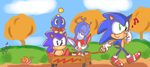 Sonic's Wagon Ride by chibiirose