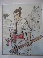 The Samurai by jkurosaki