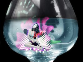 amruta in a glass by Baby-Krrish