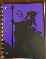 Blackumbral Purple Notebook by BlackUmbral