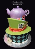 Alice in Wonderland Cake by ArteDiAmore