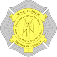 Morality Police Badge by Tepheris