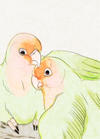Lovebirds by NimueKaiba