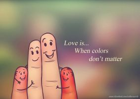 Love is... by EdlouieArts