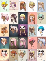 Free adopts {CLOSED} by Tomboy-Kei