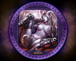 Sexy Draenei Wallpaper by FIavius