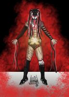 Finn Balor - Demon King by Luis Henrique Verissimo by LuisHB1