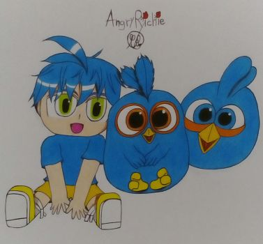 Triplets by AngryRichie