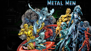 Metal Men New 52!! by Gilgamesh-Scorpion