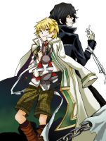 Pandora Hearts by nyuhatter