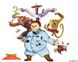 Kung Fu Goering by HerHH-Idiot