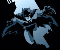 Batman Blue by Gaston25