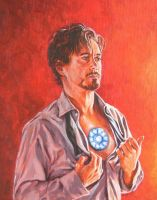 Tony Stark by ObsidianSerpent