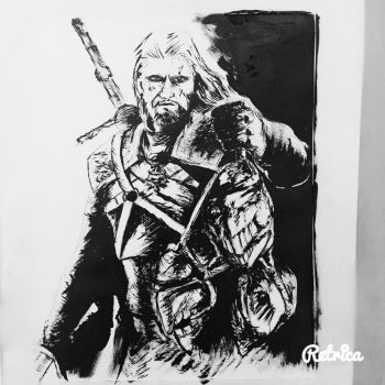 Yet Another Geralt of Rivia by Fluexpr34