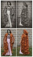 Lily Munster Cloak by grg-costuming