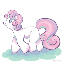 MLP: Sweetie Belle by MaryAQuiteContrary