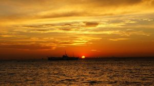 Sunset at Kadikoy 21 by Navvyblue