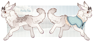 Avilope Advent 2014 - Day 4 - Arctic Fox by Dogquest