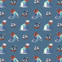 Sam Tiled Background by Lord-StarryFace