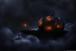 Pumpkin Manor - Large by outtheredesign