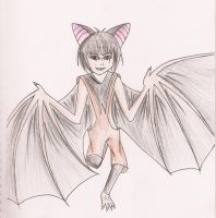 Bat-Human Hybrid 1 by lillyfoot15