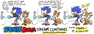 Sonic Boom Stream Continues by AndrewDickman