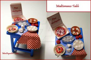 Mediterraneo Table by miniacquoline