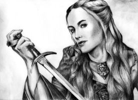 Cersei Lannister - Game Of Thrones. by titinacho